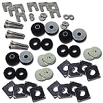 1964 - 1967 Corvette Coupe Body Mount Kit