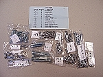 67 Corvette Interior Screw Kit-(Coupe)