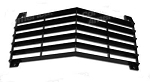 1968 - 1969 Corvette Front Center Grill, Reproduction