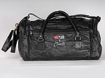 C2 Corvette Leather Road Trip Bag