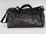 Corvette Leather Road Trip Bag