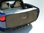 2005 - 2013 Corvette Embroidered Rear Bumper Apron