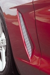 2005-2013 Corvette Diamond Cut Fender Screens