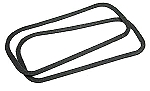 1969 - 1982 Corvette Door Handle Gaskets. (Pair)