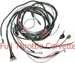 1963 - 1965 Corvette Engine Harness w/o AC or Fuel Injection