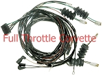 1964 Corvette Rear Body Harness for Convertible Without Back-Up Lights